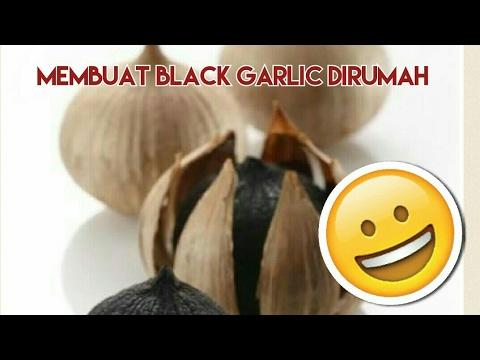 Black garlic - Cara membuat bawang hitam dengan menggunakan rice cooker