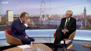David Davis talks to Andrew Marr about the current state of Brexit - 03/09/2017