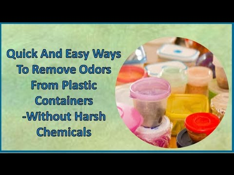 Quick And Easy Ways To Remove Odors From Plastic Containers  Without Harsh Chemicals