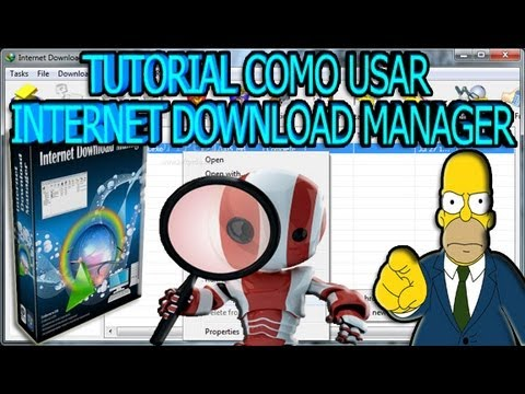 Como Usar Internet Download Manager 2013