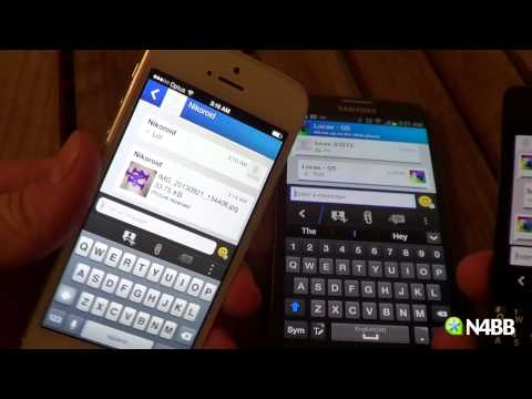 BBM for iPhone and Android Quick Look