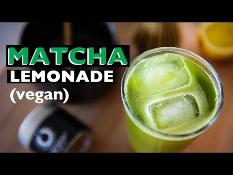 VEGAN REV - How to make Matcha Lemonade | Vegan Green Tea Recipe! EP 40