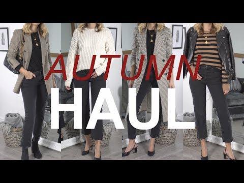 Autumn Fall Haul October 2017 | Topshop, Chanel, Zara, Mango, ASOS