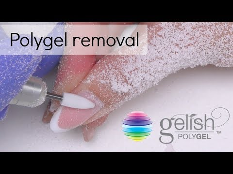 Polygel removal | How to take off gel nails ?