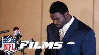 Michael Vick Goes To Jail For Dogfighting Mike Vick A Football Life N