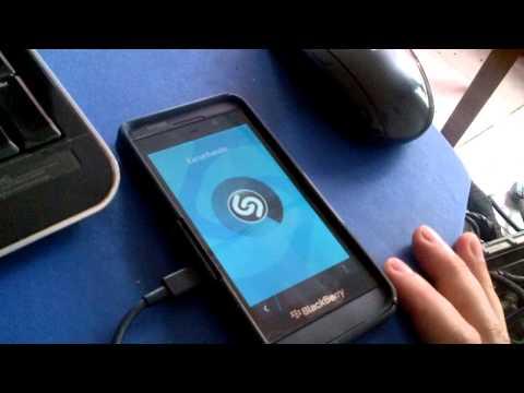 Shazam en BlackBerry Z10, Q10 y Q5