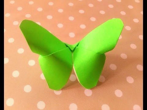 How to Make Butterfly Origami Tutorial | Cara Membuat Origami Kupu-kupu