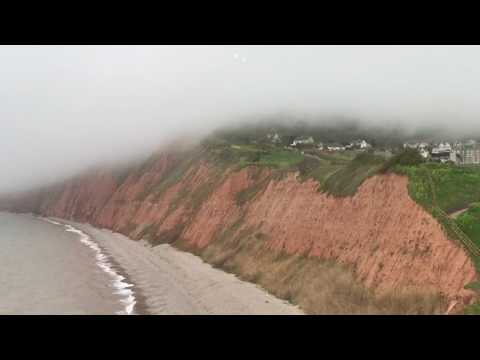 Cloud engulfed Sidmouth