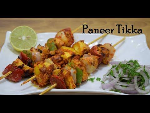 Paneer Tikka Paneer Tikka Recipe How To Make Paneer Tikka On Tawa Restaurant style Paneer Tikka Tika