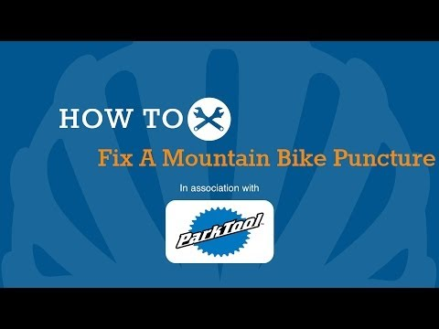How To Fix A Mountain Bike Puncture