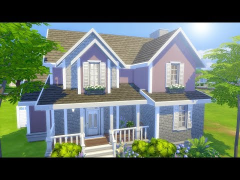 PLUM NOT SO BERRY HOUSE // The Sims 4: Speed Build