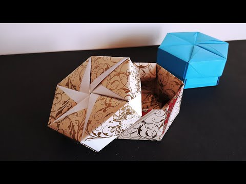 Origami Hexagon Box