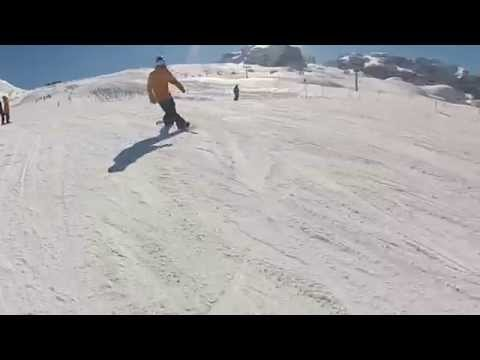 Best of flat tricks and butters with Ride Snowboards 2015 collection