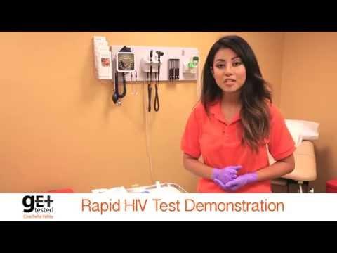 HIV Testing | Oral Swab Demonstration (English)