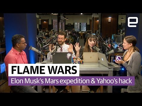 Elon Musk's Mars expedition and Yahoo's hack