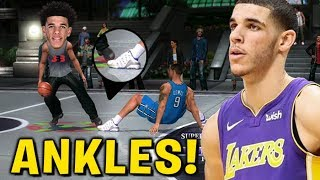 Lonzo Ball is BREAKING ANKLES! NBA Big Ballers
