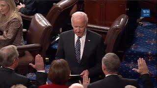 New US Senate Members Sworn In - 2017