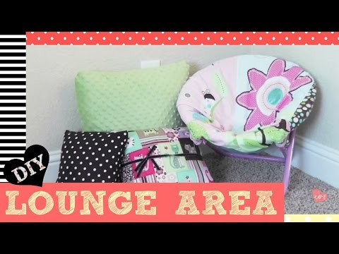 DIY Reading Nook/Lounge Area for Kids 2 Minute Tutorials