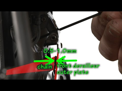 DI2 Alignment/Tuning Your Electronic Shifting System Part Two