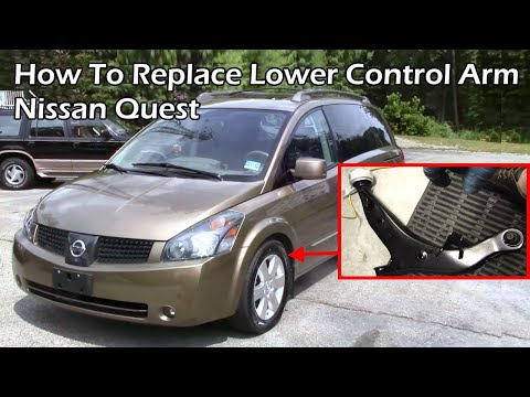 Nissan Quest - Replace Lower Control Arm
