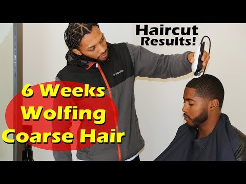 End of 6 Weeks Wolfing: Coarse Hair 360 Wave Progress Tips Revealed!