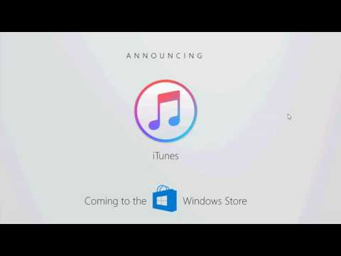 Build 2017 Amazing annoucements Apple Itunes coming to Windows Store