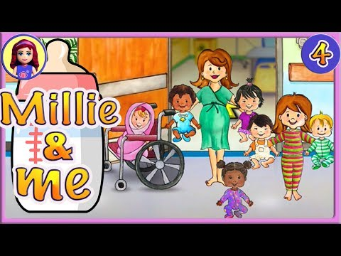 Millie & Me Too Many Babies! My Playhome Hospital Silly Play Ep 4 App Gameplay Kids Toy Story