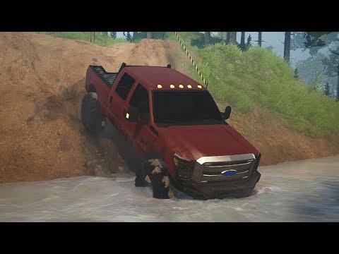 MudRunner - NEW MAP MOD! Off-Road Testing Park! [Paramount Circuit] (Spintires MudRunner Mods)