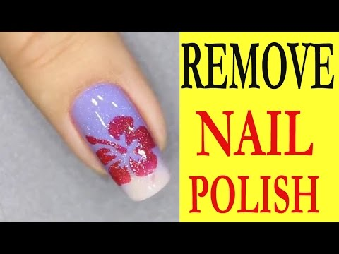 How to remove nail polish