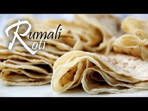 Rumali Roti Recipe | Soft Home Made Rumali Roti Recipe by Shilpi