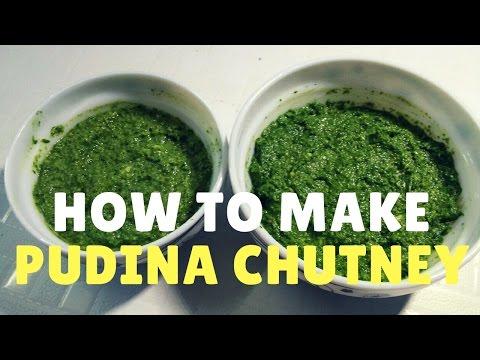 पुदिन्याची चटणी  |  Pudina Chutney  |  Recipe By Anita Kedar