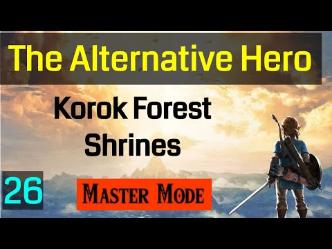 026 Master Mode Breath of the Wild The Korok Trials Korok Forest Shrines