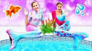 Download Polen deniz kızına dönüşüyor! Havuz oyunları. Eğlenceli kız çocuk ları Video