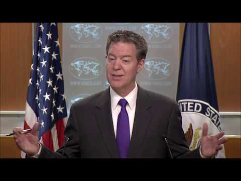 Ambassador Brownback on 2017 International Religious Freedom Report