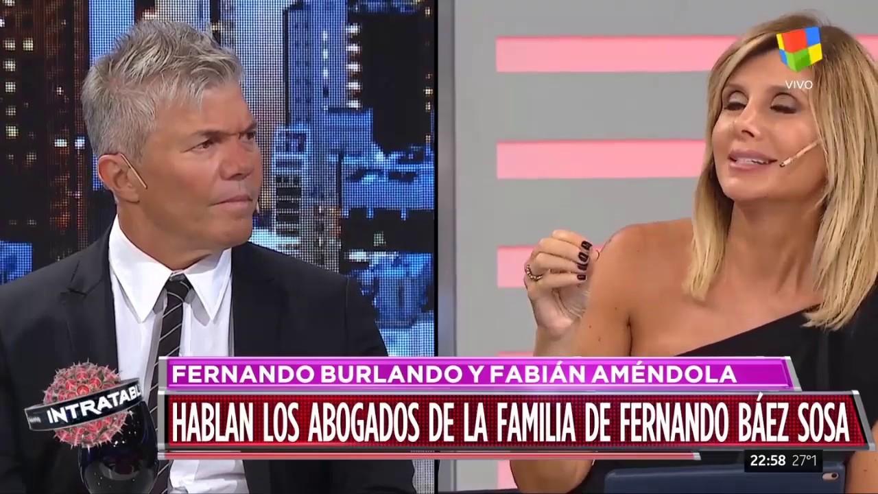 Fernando Burlando y Fabián Améndola en Intratables