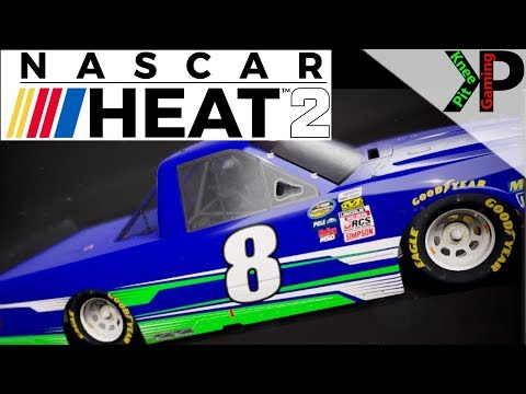 Nascar Heat 2 - Customizing Your Car/Truck (Custom Paint Schemes)