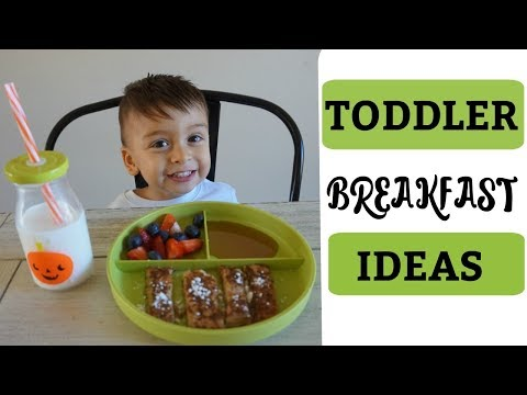 Toddler Breakfast Ideas! | Simple, Healthy & Delicious | Jo Michelle