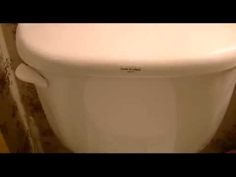 Replace A Toilet Flush Lever--THE EASY WAY!!!