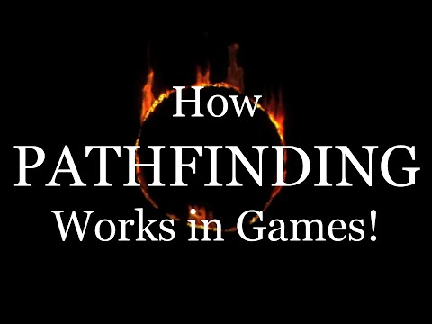 How Pathfinding Works in Games!
