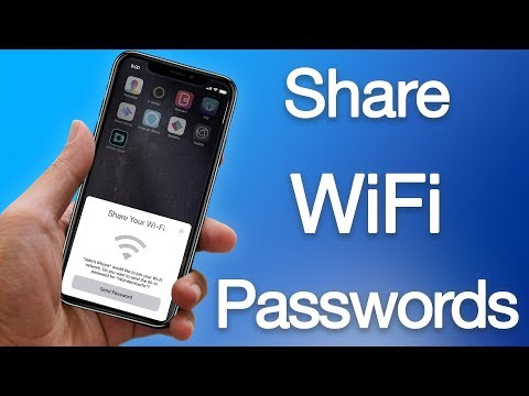 How to Share WiFi Password on iPhone & iPad Running iOS 11