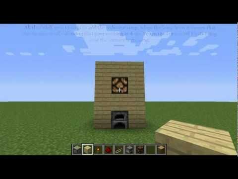 Minecraft - BUDFLOP Furnace w/ Indication Light