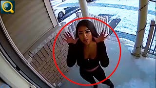 15 WEIRD THINGS CAUGHT ON SECURITY CAMERAS AND CCTV!