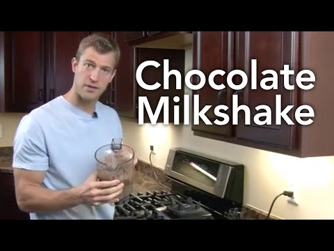 How to Make a Chocolate Milkshake-Transform Your Kitchen-Episode #29