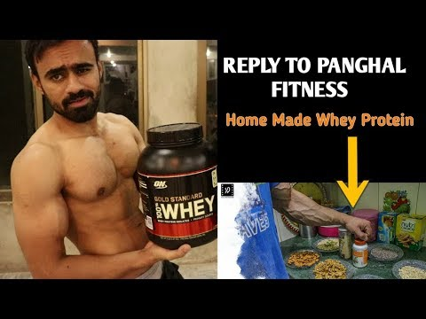 Panghal Fitness | No bullshit -How to Make Protein Powder At Home
