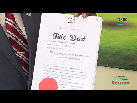 Land Ownership: Acquiring A Title Deed