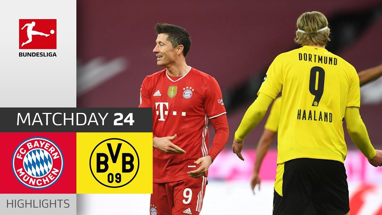 FC Bayern München - Borussia Dortmund   4-2   Highlights   Matchday 24 – Bundesliga 2020/21