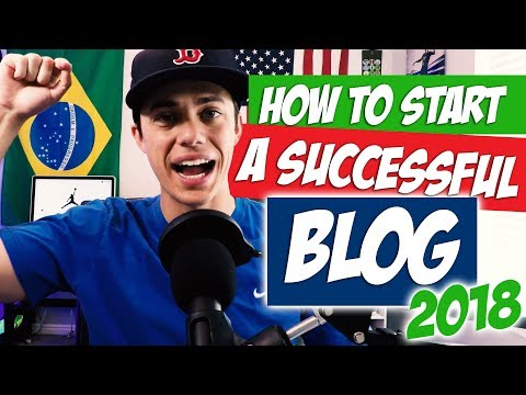 How to Start a Successful Blog in 2018 to MAKE MONEY!!!