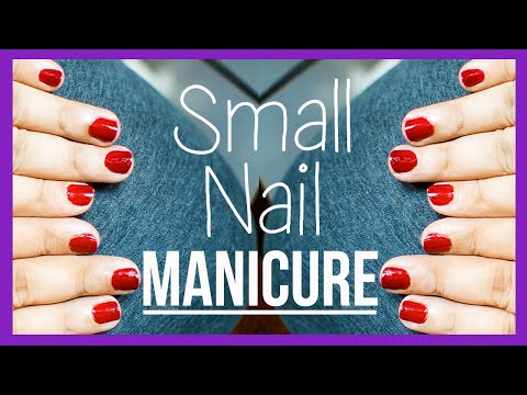 Manicure For SMALL nails! {Delhifashionblogger}