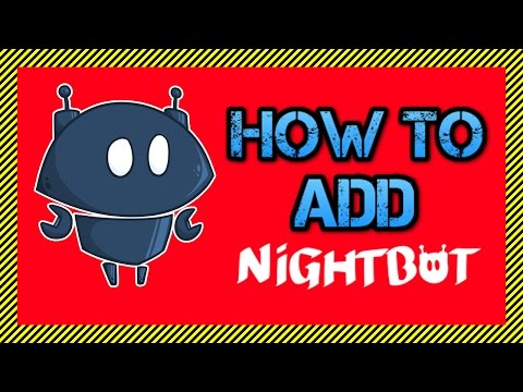 How To Add Nightbot As A Moderator For Your Live Streams - Nightbot Beginner Tutorial