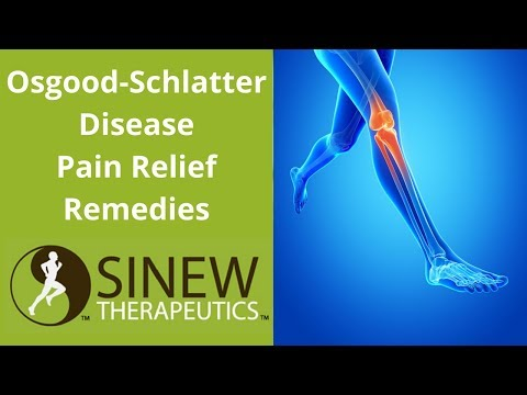 Osgood-Schlatter Disease Pain Relief Remedies